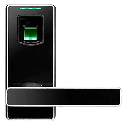 ZKTeco ML10 schlüsselloses Fingerabdruck-Türschloss. Elektronisches, biometrisches, intelligentes Sicherheitsschloss. Türschlösser für Schlafzimmer, Apartments, Büros.