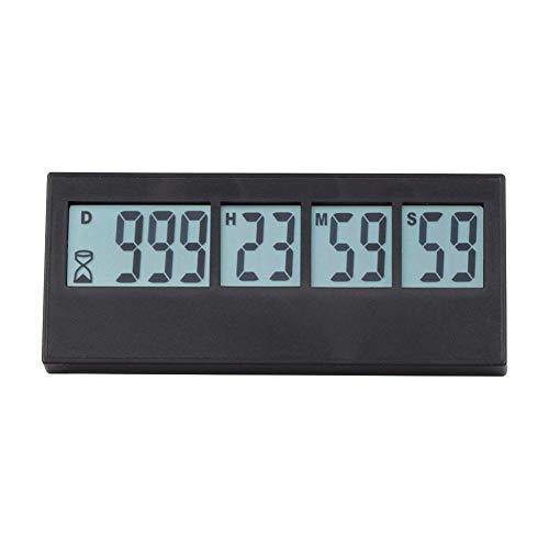 Digitaler Tageszähler mit LCD Display Erinnerungsfunktion Countdown Max.999 Tag Countdown rinnerungsfunktion für Geburtstag, Hochzeit, nächsten Urlaub