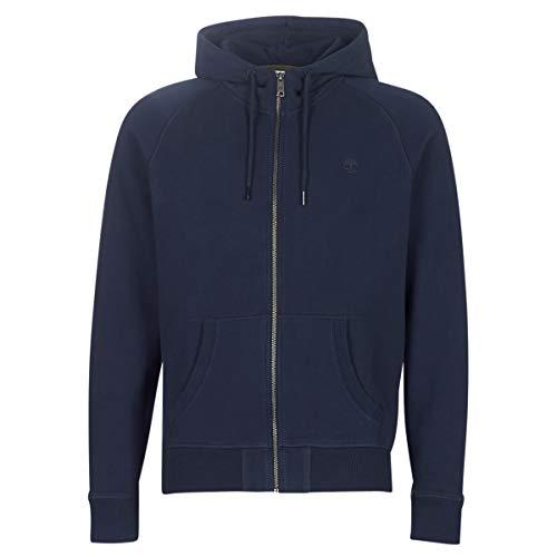 Timberland ER Basic Zip Thru Hood Marine Sweatshirts und Fleecejacken Herren Marine - XXL - Sweatshirts