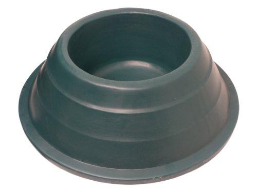 JFC EQ3 Futtertrog für Pferde - Bodenmodell, rund - 15 Liter - dunkelgrün