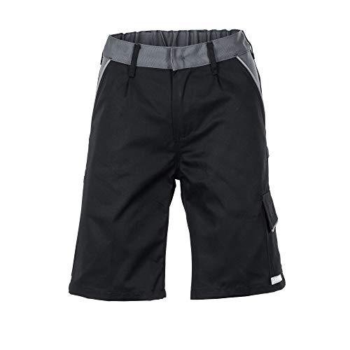 Planam Größe S Herren Highline Shorts schwarz Schiefer Zink Modell 2714