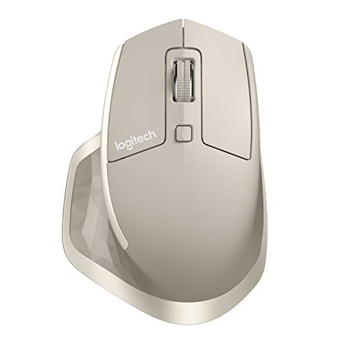 Logitech MX Master Wireless Mouse – High-precision Sensor, Speed-adaptive Scroll Wheel, Thumb Scroll Wheel, Easy-Switch up to 3 Devices – Stone