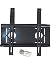 Crystonics Universal Wall Mount/Bracket Stand for 14 inch to 50 inch LCD & LED TV Fixed TV Mount