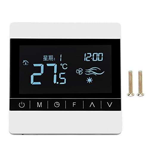 PBOHUZ Termostato-220V Termostato di Riscaldamento Elettrico 25A Regolatore di Temperatura del Pannello dell'interruttore di Temperatura Intelligente