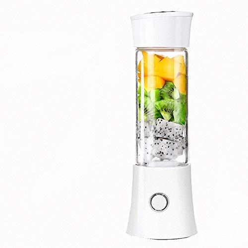 Draagbare mixer, smoothie-juicer-mok - zes mesjes, ijsblokjesschaal, afneembare kop, perfecte mixer voor persoonlijk gebruik (drie kleuren optioneel)