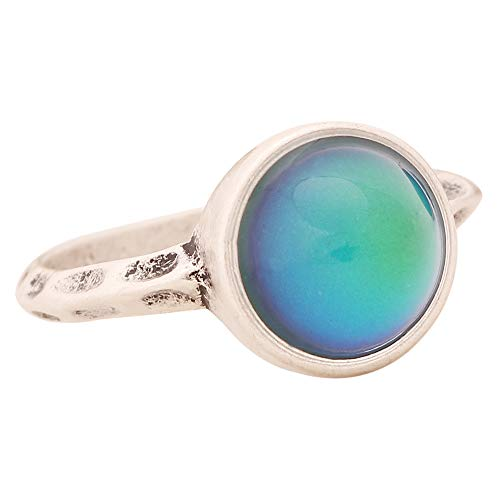 Jewelry Ring European Style Personalized Fashion Vintage Round Stone Retro Color Change Ring for Women MJ-RS002 (7)