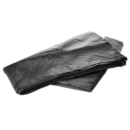 6m x 1.9m Black Gazebo Side Panel (Full Panel)
