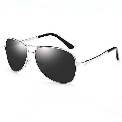 SUNGLASSES gepolariseerd voor mannen en vrouwen, klassieke sport Pilot zonnebril stijlvolle metalen frame brillen