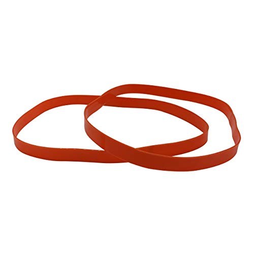 Blade Serpent Bandsaw Blade Urethane Tires - 2 Pack - 14-Inch x 1-in x 0.095-in- Premium Band Saw Wheel Replacement Belts - Accessories for Vertical and Horizontal Bandsaws
