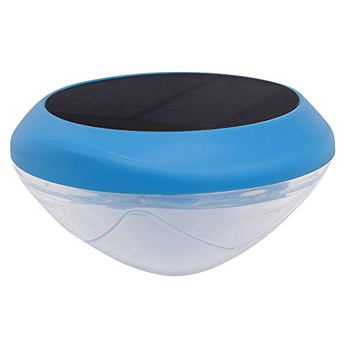 Schwimmende Solar-Poolleuchte, Solar-Unterwasser-LED-Lichter, Farbwechsel, für Schwimmbad, Teich, Badewanne oder Party-Dekorationen