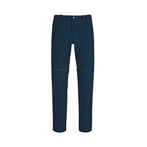 Mammut Runbold Zip Off Pantalon Homme Marine FR : M (Taille Fabricant : EU 48)
