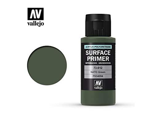 Vallejo Surface Primer 73612 NATO Green (60ml)