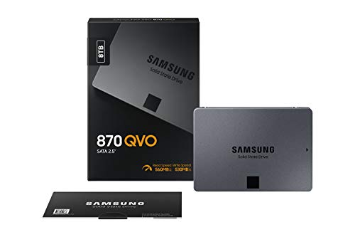 Samsung 870 QVO 8TB SATA 2,5 Zoll Internes Solid State Drive (SSD) (MZ-77Q8T0BW)