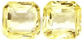 Ranking TOP5 GemsNY Untreated 1.92 cttw. Natural Yellow Cut overseas Sapphire Emerald
