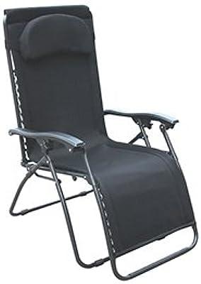 Miraculous Amazon Com Eclipse Patio Oversized Black Anti Gravity Inzonedesignstudio Interior Chair Design Inzonedesignstudiocom