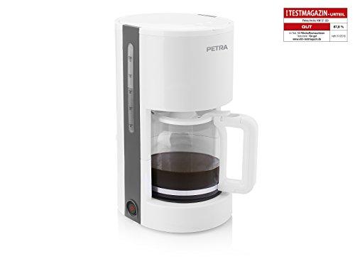 Petra Kaffeemaschine mit 1,2 Liter Fassungsvermögen - mit Warm- und automatischer Abschaltfunktion, KM 51.00