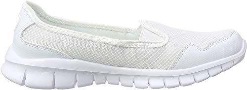 Kappa Damen Gomera Geschlossene Ballerinas, Weiß (1037 white/mint), 40 EU