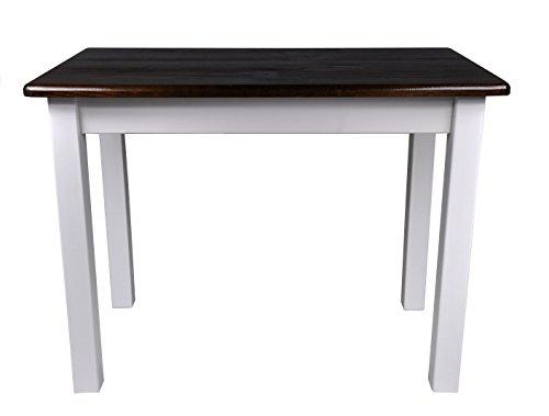 Magnetic Mobel Esstisch Küchentisch Tisch Massiv Kiefer Speisetisch in versch. Größen (50x70, Nussbaum)