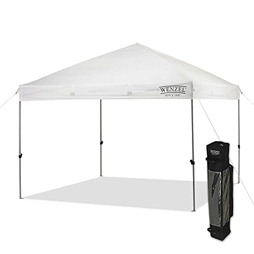 Wenzel Smartshade Canopy Tent, 10x10 Pop Up Tent for Camping, Tailgating, Festivals, Events, and More