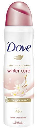 Dove Deospray für 48 Stunden Schutz Winterpflege 0% Alkohol, 6er Pack (6 x 150 ml)