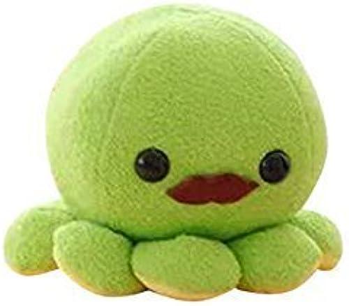 10cm Cute Octopus Plush Toy Soft Stuffed Animal Doll Xmas Christmas Birthday Valentine Gift (vert) by AngelGift
