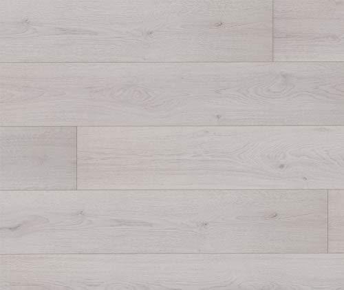 HORI® Laminat Eiche Landhausdiele weiß Ambiente Family 1-Stab I für 6,99 €/m²
