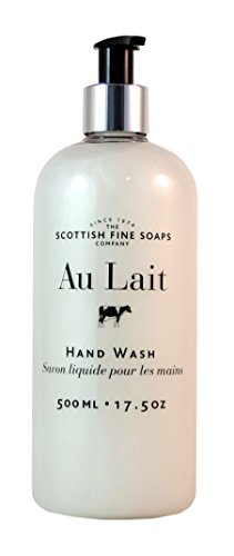 Scottish Fine Soaps Au Lait Liquid Hand Wash - XLARGE (500ml/17.5 oz)