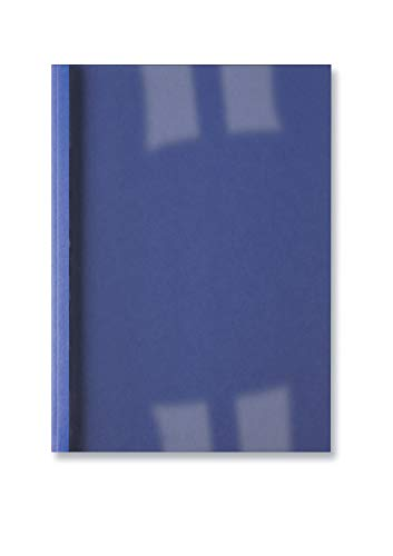 GBC Copertine Termiche Lino 1.5mm 100pz - Blu - IB386602