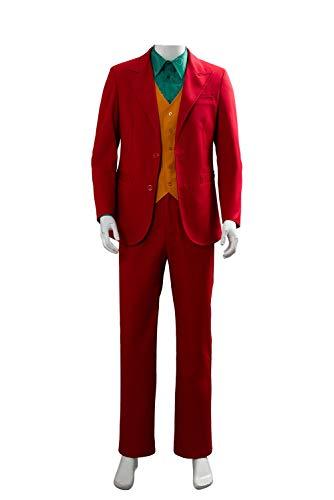 Tollstore Joker Kostüm Film Joaquin Phoenix Arthur Fleck Cosplay Kostüm für Erwachsene XXXL
