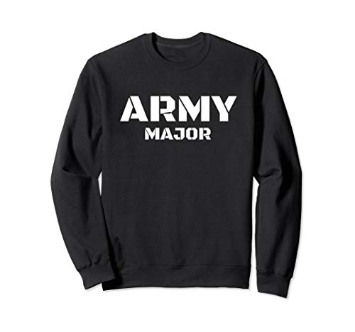 Army Major - Bundeswehr, Panzer, Armee, Uniform, Soldat Sweatshirt