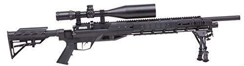 Benjamin Armada BTAP22SX PCP-Powered Multi-Shot Bolt Action .22-Caliber Pellet Hunting And Target Air Rifle With 4-16x50 mm Riflescope