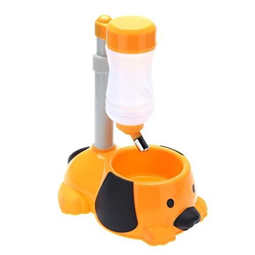 SCDCWW Futterautomat für Hunde - Funktionen: Verteilungsalarm, Portionskontrolle (Color : B)