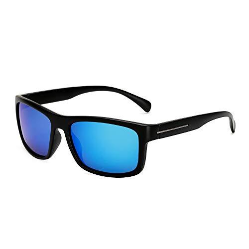 Gafas de Sol Gafas de Sol polarizadas Deportivas Gafas de Ciclismo al Aire Libre Gafas de Sol de Parabrisas protección para los Ojos (Color : D)