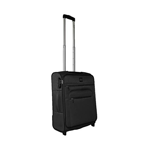 Stratic Value Top 2-Rollen-Kabinentrolley 51 cm Black