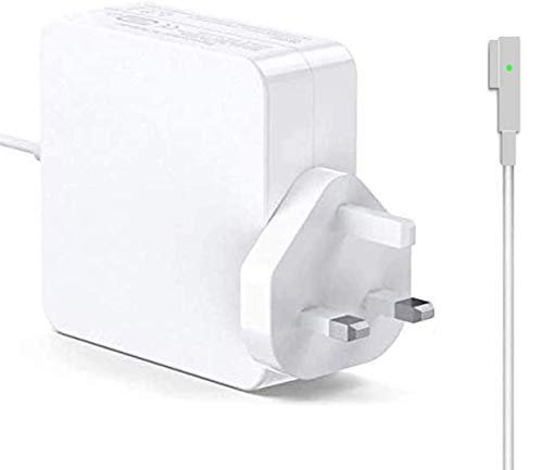 SunMac Compatible With Mac book Pro Charger 60W L-Tip Power Adapter Replacement Mac-Book Air Charger 13' 15' 17' Inch, Mid 2009 2010 2011 Mid 2012 Mac Models, MC556B/C A1278 A1181 A1184 A1344 A1290