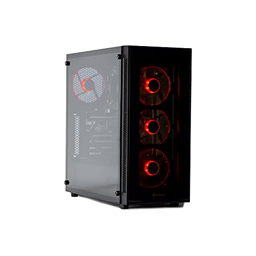 MAK OFFICE I PLUS - PC Desktop RYZEN 5 PRO 4650G,6 CORE,12 Threads,4.20GHZ,SSD NVMe 250 GB + HDD 1TB,RAM 16GB 3200MHZ,COMPUTER DA GAMING,WINDOWS 10 PRO