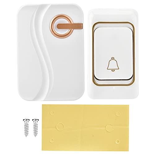 Timbre de puerta, timbre de puerta ajustable con pilas para el hogar para la oficina para restaurantes