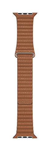 Apple Watch Correa Loop de Piel (44 mm) - Marrón Camello - Grande