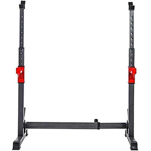 HHTD Soporte de pesas ajustable para levantamiento de pesas, equipo de ejercicio, gimnasio en casa