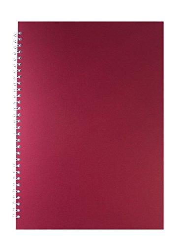 Pink Pig rot A3 Skizzenbuch 150gsm säurefrei weißes Papier 70 Seiten (35 Blätter)