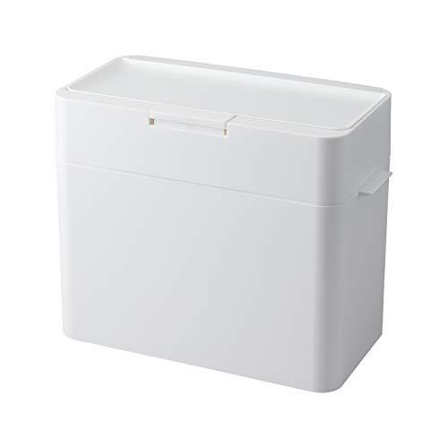 ライクイット(like-it) フタ付きゴミ箱 シールズ9.5 密閉ダストボックス ホワイト 9.5L 日本製LBD-01