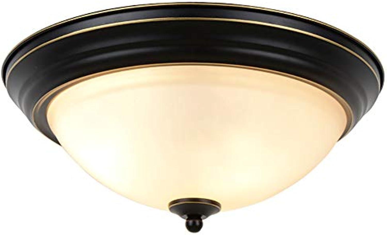YinVinA LED-Deckenleuchte, Unterputzmontage, Deckenleuchte, Innenbereich, Deckenmontage, Schwarz, Durchmesser 18,9 cm, Hhe 15,9 cm, 36 W