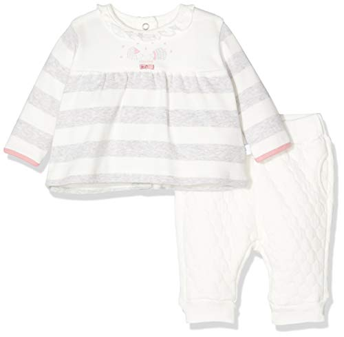 Absorba 7p36111-ra Set Pant Conjunto, Marfil (Écru 11), 18-24 Meses (Talla del Fabricante: 1M) para Bebés