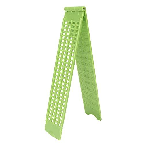 Aoutecen Pizarra De Escritura Braille, Herramienta De Escritura Braille Material De Primera Calidad Pizarra De Braille De Plástico para Uso Doméstico para El Aprendizaje De Braille