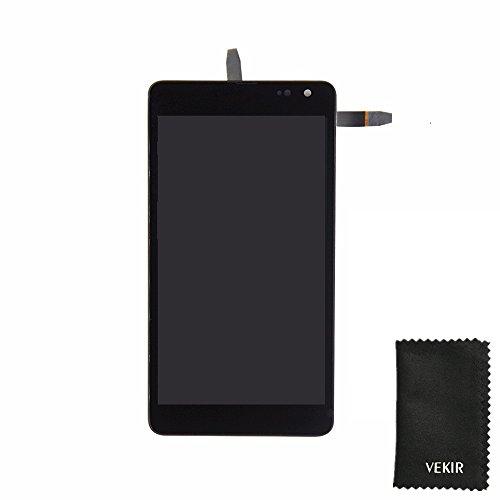 VEKIR LCD táctil digitalizador de Pantalla con Marco de reemplazo Compatible con...