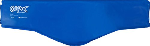 Chattanooga ColPac - Reusable Gel Ice Pack - Blue Vinyl - Neck Contour...