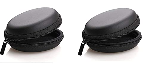 Zither Earphone case Earphones case | Headphone Pouch |Earphone Cover, Carrying Case for Earphones, Headset, Pen Drives, SD Cards, All Mobile Accessories (2 Carry case)
