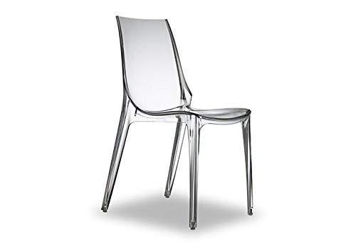 Scab Design Stuhl Vanity Kunststoff transparent