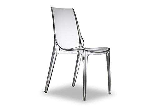 Salesfever Chaise Design Vanity - Transparent