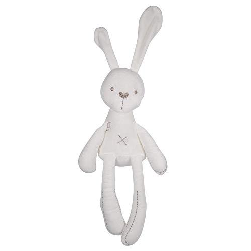 Conejo de peluche, muñecas rellenas de dibujos animados lindo dormir conejito muñecas de peluche animales juguetes regalo para bebés